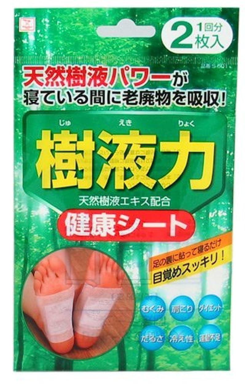 収入ダルセット削減小久保(Kokubo) 樹液力 健康シート 2枚入 (台紙)【まとめ買い12個セット】 S-601