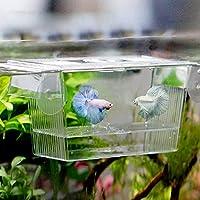 (サンライン)Sun Line水槽用 人工 水族館 隔離ボックス インキュベーター フローティング 稚魚 トラップ 飼育箱 産卵箱