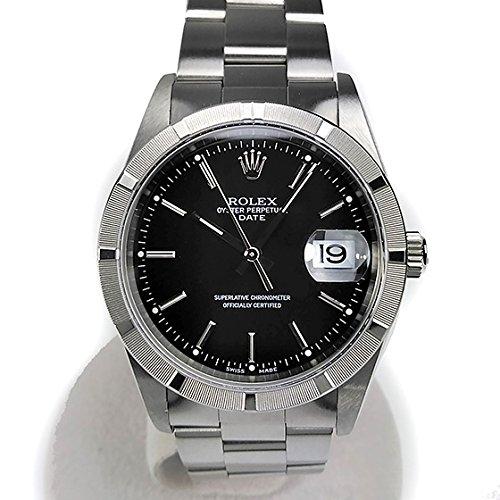 [ロレックス]ROLEX 腕時計 オイスターパーペチュアル デイト D番 15210 メンズ 中古