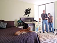 ビニールデカール壁画ステッカーRacoon子供部屋003
