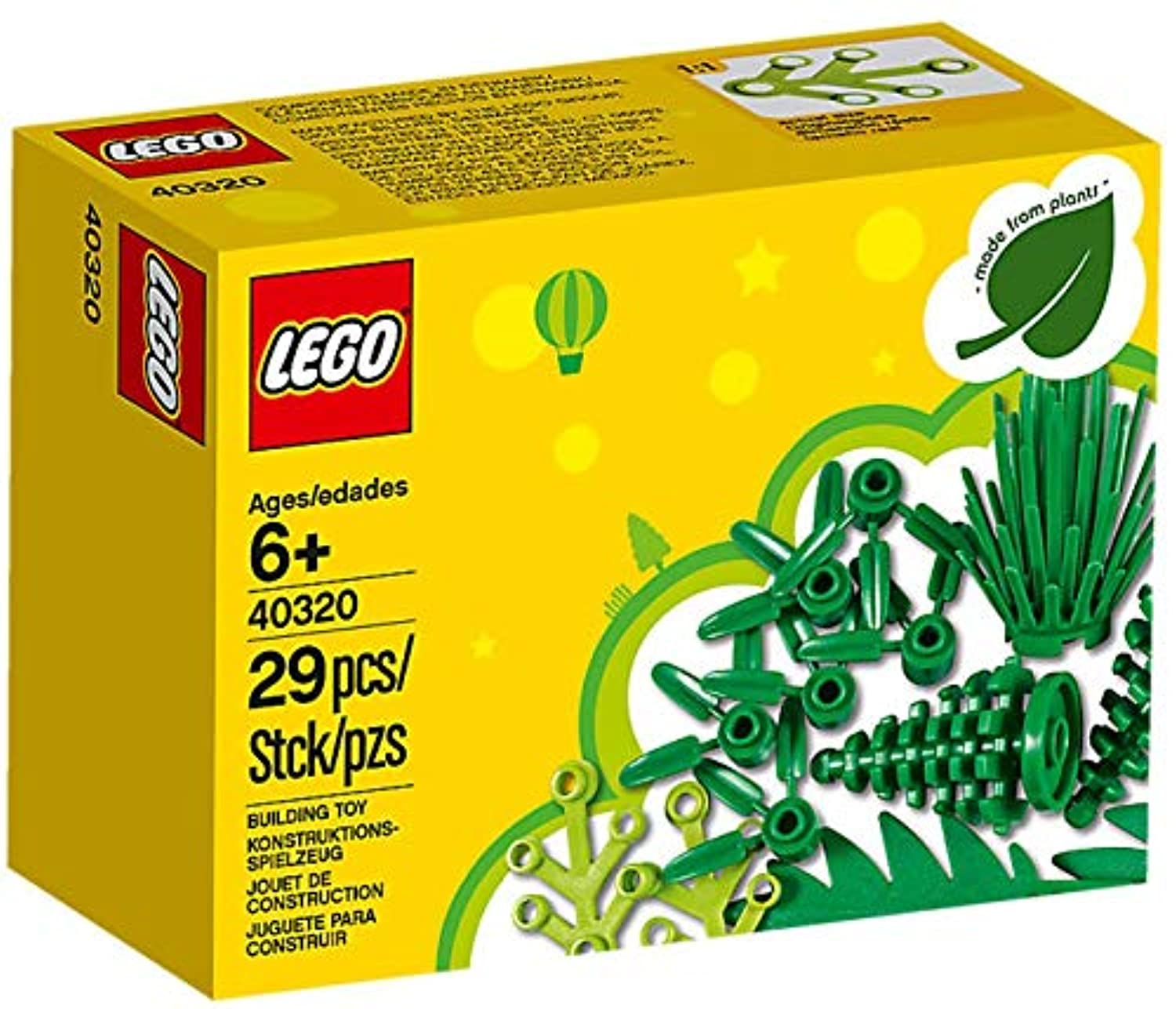 LEGO 40320 Plants From Plants (Made of Sustainable Materials)
