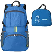 ORICSSON Unisex Rated 35L Durable Lightweight Foldable Backpack Waterproof Handy Daypack