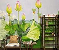 Lcsyp カスタム壁紙手描きの油絵韻アート背景リビングルームの寝室壁画家の装飾3d壁紙-350X245CM