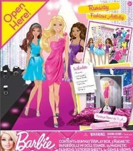 Tara Toy Barbie(バービー) Runway Fashion Activity Kit ドール 人形 フィギュア(並行輸入)