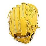 asics(アシックス)  野球 軟式 グローブ ゴールドステージ スピードアクセル 投手 BGRFLQ ブラウンゴールド LH (右投げ用) メンズ