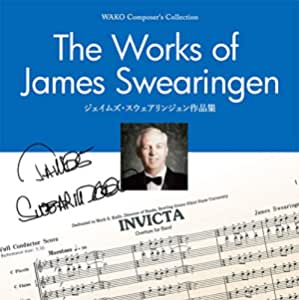 Wako Composer's Collection/The Works of James Swearingen/ジェイムズ・スウェアリンジェン作品集(WKCD-0201)