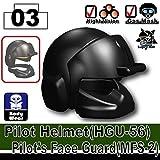 AFM パイロット ヘルメット HGU-56 ブラック