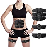 EMS Abs Trainer, Charminer Abdominal Toning Belts Muscle Toner Gym Workout And Home Fitness Apparatus For Men Women