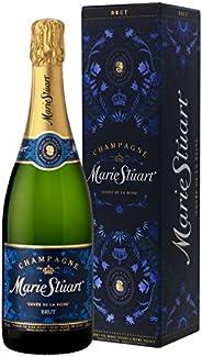[Amazon限定ブランド]【父の日/ギフト】【ライチの香りの素敵シャンパン】メアリーステュアート キュヴェ ド ラ レイヌ ブリュット ギフトボックス入り 750ml[フランス/シャンパン/辛口/Curator'