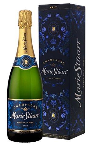 Thienot(シャンパーニュ ティエノ) 3年瓶内熟成のきめ細かい泡が特徴 メアリーステュアート キュヴェ ド ラ レイヌ ブリュット ギフトボックス入り 750ml