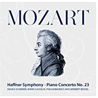 Mozart: Haffner Symphony - Piano Concerto No. 23 by Bonn Classical Philharmonic and Heribert Beissel Ragna Schirmer
