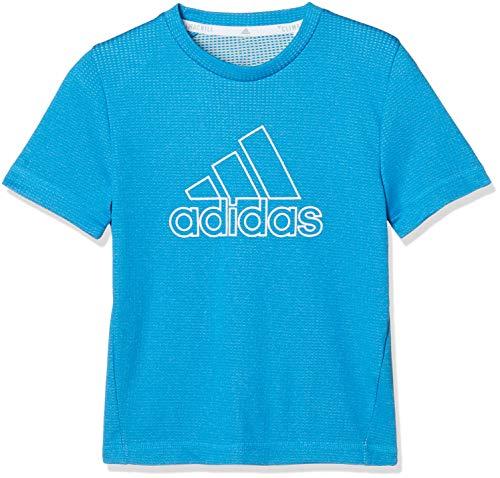アディダス ジュニアスポーツウェア Tシャツ B TRN CLIMACHILL Tシャツ FTK07 DV1401 ボーイズ ショックシアンS19