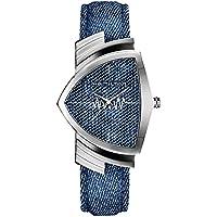 [ハミルトン]HAMILTON 腕時計 VENTURA Quartz(ベンチュラ クオーツ) H24411941 デニム調 メンズ 【正規輸入品】