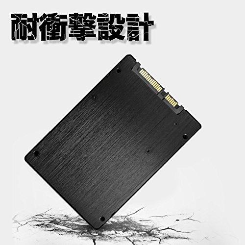 『Pasoul SSD ノートパソコン 増設用 3D TLC NAND採用 新品 2.5インチ 内蔵型SSD 日本国内三年保証 SATA 6Gbps Read(MAX)550 Write(MAX)400MB/s (120GB)』の5枚目の画像