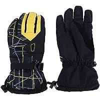 SIKIWIND スキー手袋 ファッション グローブ ミット 防寒 防水 防風 保温 通気 肉厚 衝撃吸収 冬春 男女兼用