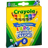 Crayola 52 – 3280 8-count Kid 's Firstクレヨン 12 52-3280