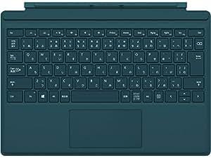 マイクロソフト 【純正】 Surface Pro 4用 タイプカバー ティール グリーン QC7-00075