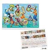 ディズニー 2018年 壁掛けカレンダー 大 シール付き ミッキーマウス ミニーマウス 2018年カレンダー Disney 【東京ディズニーリゾート限定】