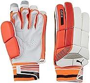 Puma, Cricket, Evo 4 Batting Gloves, Fiery Coral/White, Medium, Left Hand