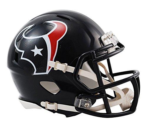 Riddell Mini フットボール ヘルメット - NFL Speed ヒューストン・テキサンズ (Houston Texans)
