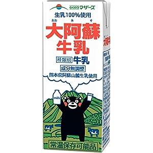 (ケース販売) 大阿蘇牛乳 200ml×24本