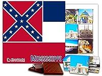 """DA CHOCOLATE キャンディ スーベニア """"ミシシッピ"""" MISSISSIPPI チョコレートセット 5×5一箱 (Flag)"""