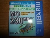 日立マクセル データ用 3.5型MO 230MB Windowsフォーマット MA-M230.WIN.B1E