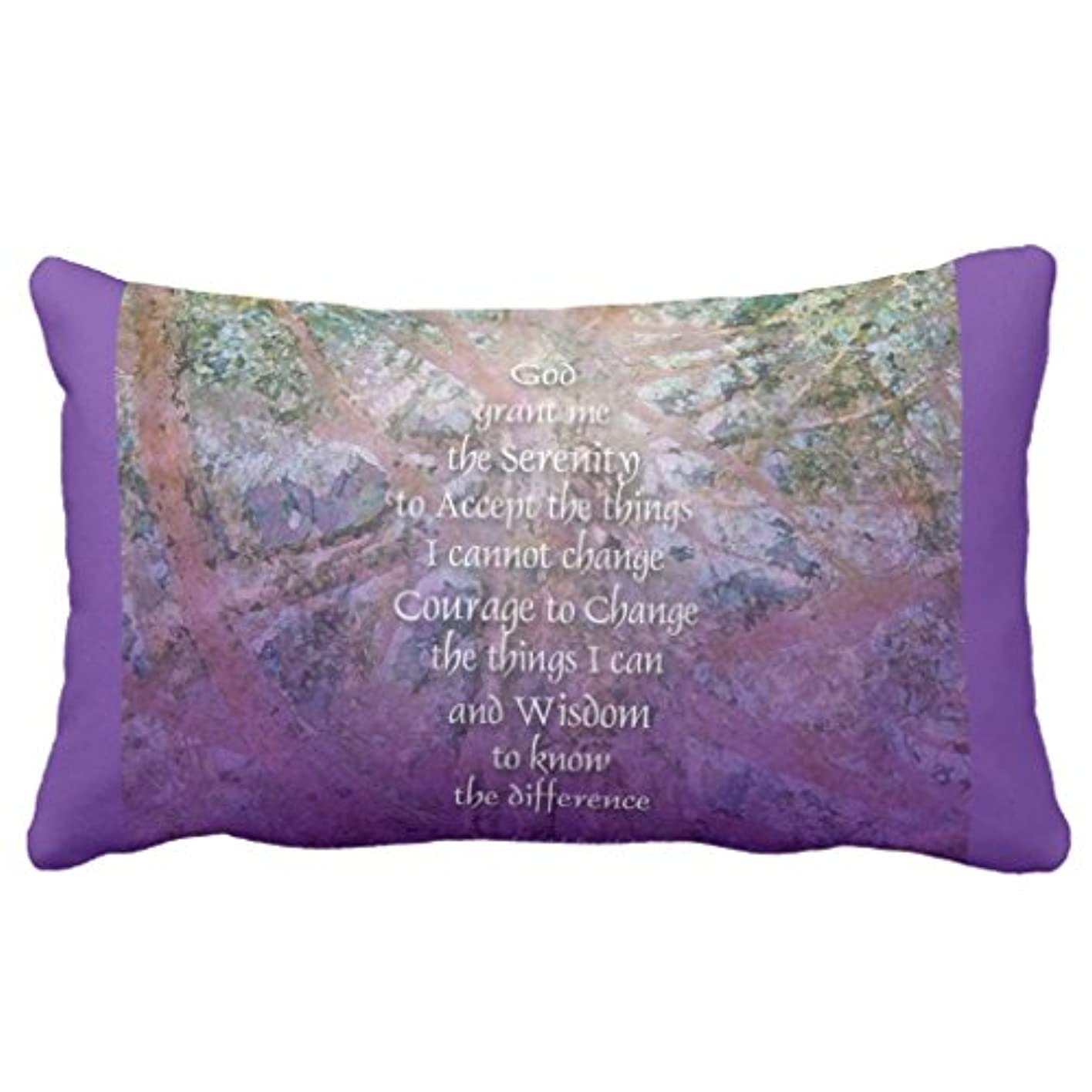 熱心カヌー弱点Zazzle Serenity Prayer Incense Cedar American Mojo枕 13