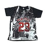 (MAO MAO) プリントTシャツ マイケルジョーダン バスケットボール おもしろTシャツ メンズ [並行輸入品]