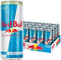 Red Bull Sugarfree Energy Drink Can 24 Pack of 250 ml