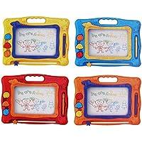 Pinjewelry クリエイティブ キッズ おもちゃ お絵かきボード 消去可能 カラフル 落書きボード 教育玩具 マジックスケッチボードに描く
