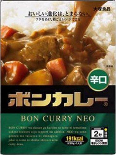 大塚食品 ボンカレーネオ 辛口 230g×5個