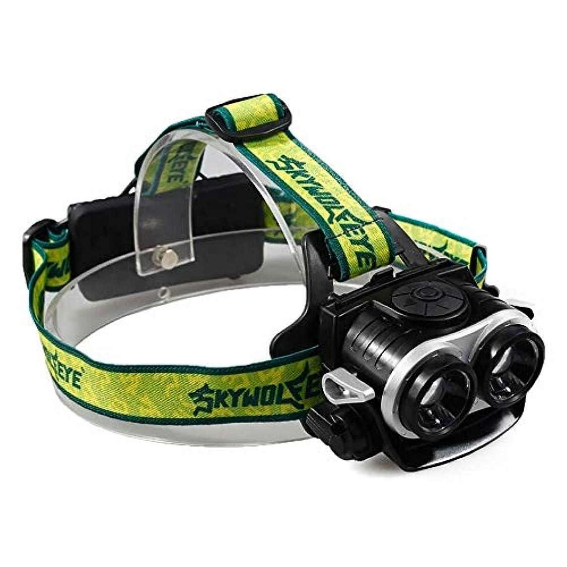 クラウンセンサーポーチ屋外防水ホームツーT6伸縮ズームusb充電強いライト超明るいヘッドライト調節可能なヘッドバンド用ナイトライディングキャンプナイトフィッシング