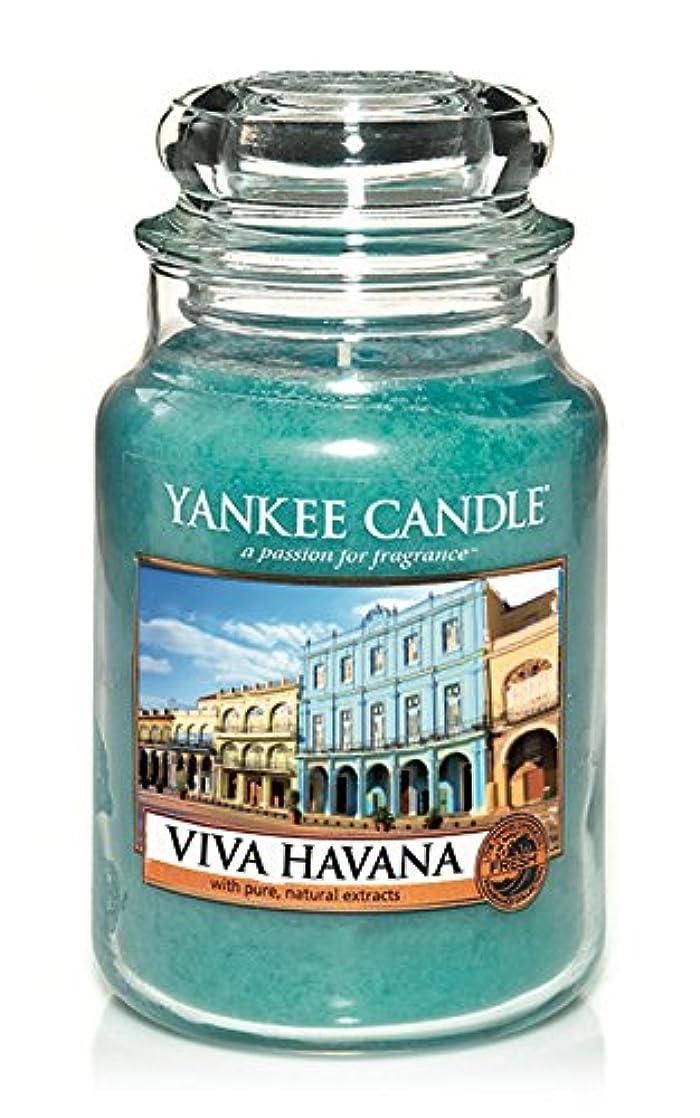 障害ジョリー未使用YankeeキャンドルViva Havana Large Jar Candle、新鮮な香り