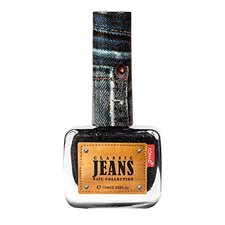 ダイアクリティカル換気遮るジーンズネイルポリッシュ Real Jeans(リアルジーンズ)