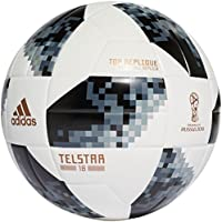 Adidas World Cup 2018 Top Replique Soccer Ball 5ホワイト/ブラック