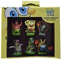 Penn Plax 6-Piece Spongebob Squarepants Mini Set / スポンジボブ アクアリウム内装用 6個セット