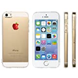 Highend berry iPhone 5 5s 2014年 モデル ストラップ ホール 保護キャップ 一体型 ソフト TPU ケース リング フィンガー ストラップ 付き リアルアップル