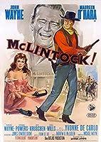McLintockポスター映画27x 40インチ–69cm x 102cm ) ( 1963年) (イタリアスタイルA )