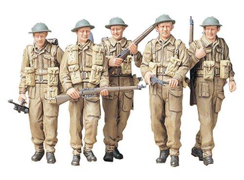 1/35 ミリタリーミニチュアシリーズ イギリス歩兵巡回セット 35223