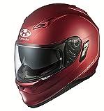 オージーケーカブト(OGK KABUTO) バイクヘルメット フルフェイス KAMUI 2 フラットレッド (サイズ:S) 566852