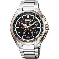 [シチズン] 腕時計 アテッサ エコ・ドライブ 電波時計 ペアモデル CB5044-62E メンズ シルバー