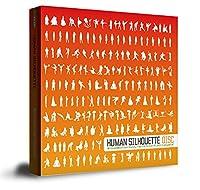 ヒューマンシルエット (425種の人物のシルエット) human silhouette