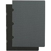 Paperblanks Paper Oh Cahier Circulo Black on Grey / Grey on Black OH9242-1