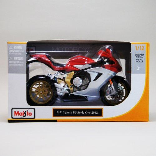 MVアグスタ 1/12 Maisto MV Agusta F3 Serie Oro '12 バイク/マイスト/2012/セリエオロ/SportsBike/スポーツバイク/オンロード/1:12/赤/レッド/