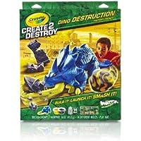 Crayola Create2Destroy Dino Destruction Tricerachomps Kit by Crayola