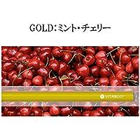 ビタボン ビタミン水蒸気スティック ペンシル型電子タバコ #GOLD ミント・チェリー [並行輸入品]