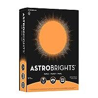 Neenah Astrobrights Heavy Duty紙、24ポンド、8.5X 11インチ、500シート 8-1/2 X 11 in