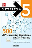5 Steps to a 5 500 AP Chemistry Questions to Know by Test Day 2nd edition (Mcgraw Hill's 500 Questions to Know by Test Day) [並行輸入品]