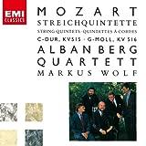 モーツァルト:弦楽五重奏曲第3番、第4番